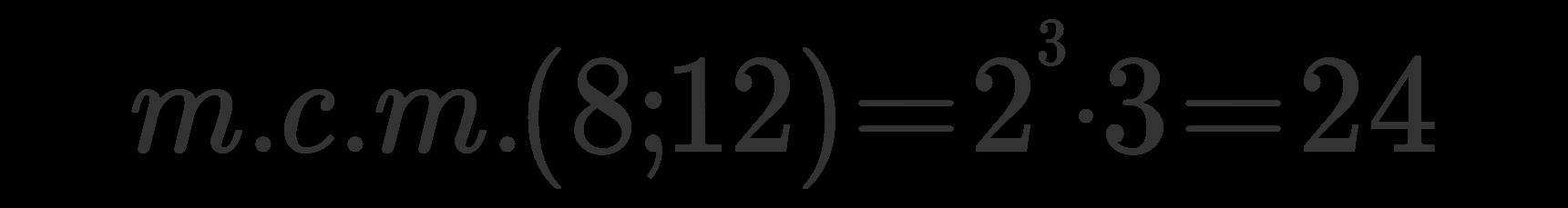 mcm risultato esempio 1