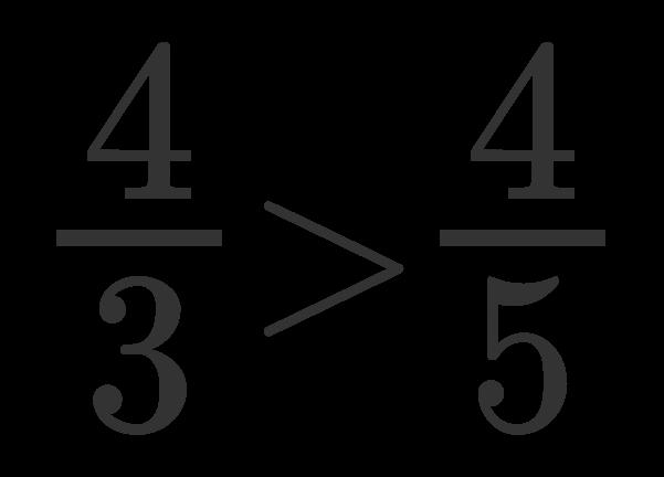 Confronto tra frazioni 3