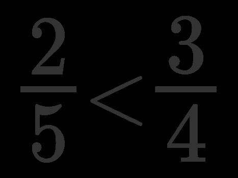 Confronto tra frazioni 9