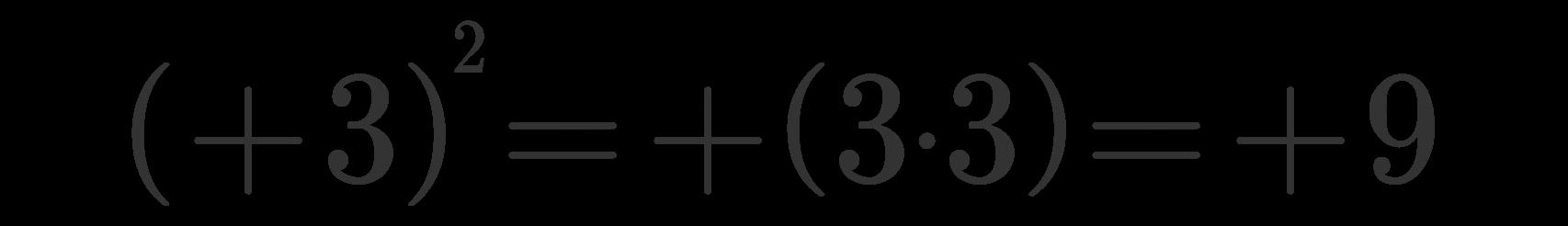 Potenza di numeri relativi 6