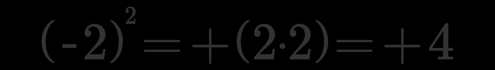 Potenza numeri relativi 1