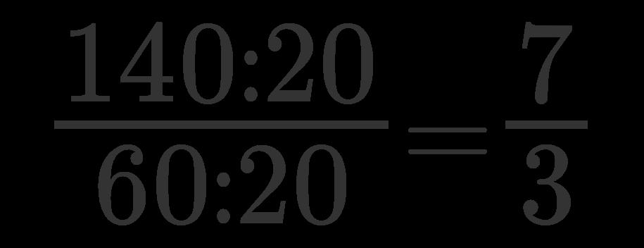 Semplificare una frazione 2