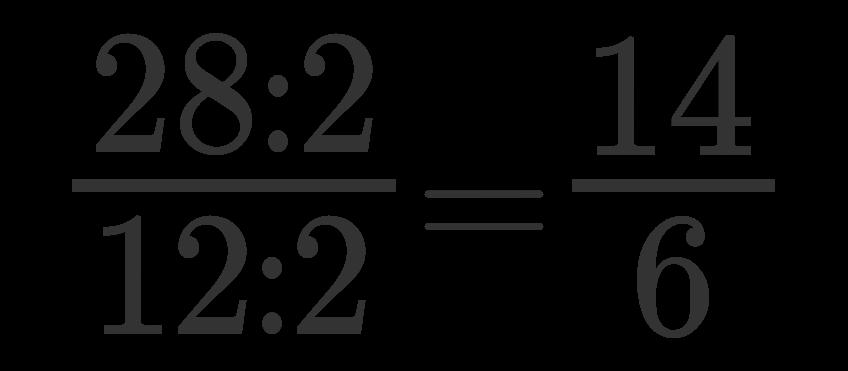 Semplificare una frazione 4